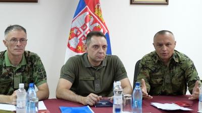 Minister of Denfence Aleksandar Vulin