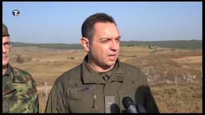Изјава министра Вулина о припреми за вежбу Век победника