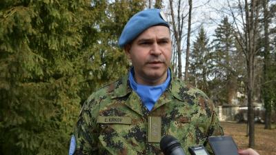 Lieutenant Colonel Emil Kirkov