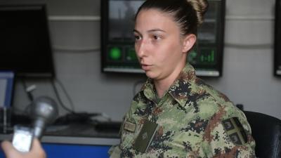 Потпоручник Милица Стојковић