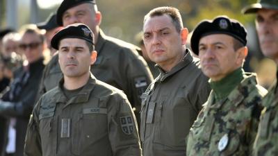 Потпуковник Горан Цолић, заменик команданта Батаљона војне полиције Кобре