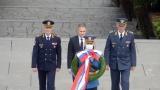 Полагање венца поводом Дана Војске Србије