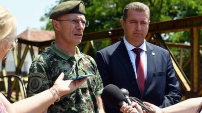 Начелник Генералштаба Војске Србије генерал Милан Мојсиловић