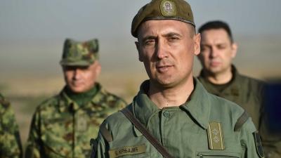Потпуковник Борислав Крњајић, командант 15. тенковског батаљона