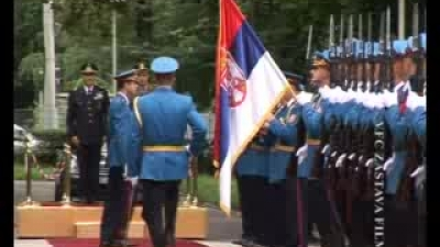 Italian ChoD visits Serbia