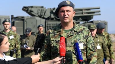 Brigadni general Tiosav Janković, komandant 250. raketne brigade za PVD