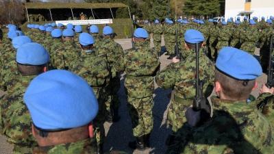 Испраћај контингента Војске Србије у мисију УН у Либану
