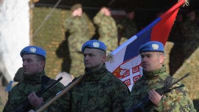 Испраћај контингента ВС у мисију УН у Либану: капетан Новак Кукић