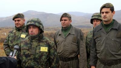 Мајор Љубиша Мицић, командант 46. тенковског батаљона