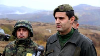 Поручник Никола Јовановић, командир тенковског вода