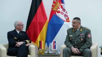 Visit by Deputy Inspector General of the Bundeswehr