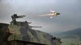 Pasuljanske livade live firing using Malyutka