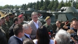 President Vučić: I am proud of the Serbian Armed Forces, the people who always serve and protect Serbia