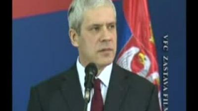 Predsednik Tadić: Vojska: - temelj politike mira