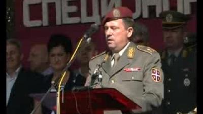 Обраћање генерала Тодорова