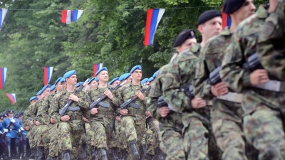 The Guard of the Serbian Armed Forces Celebrated its Holiday