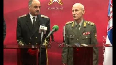 Bulgarian Chief of defence official visit to Serbia