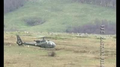 Ракетирање земаљских циљева противоклопним хеликоптерима
