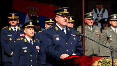 Obraćanje generala Cvetkovića
