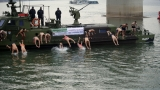 Members of the Serbian Armed Forces Swam for the Holy Theophany Cross