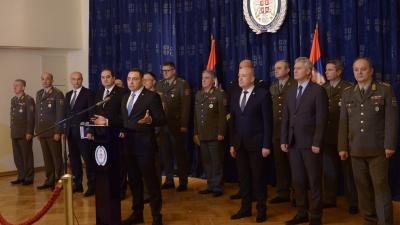 Godišnja konferencija za medije ministra odbrane
