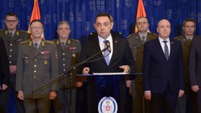 Министар Вулин о увођењу нових средстава и наоружања