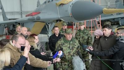 Генерал Диковић на Батајници о модернизацији РВ и ПВО