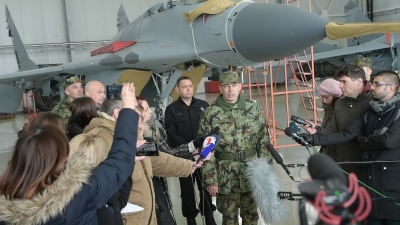 Потпуковник Бошко Шербеџија о авиону ласта
