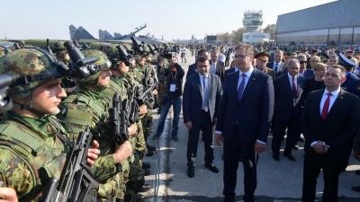 Prikaz sposobnosti Vojske Srbije Sloboda 2017 — RTS, direktan prenos