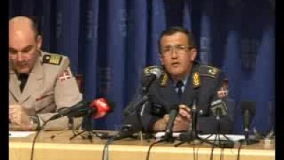 Конференција за новинаре поводом пада авиона Орао