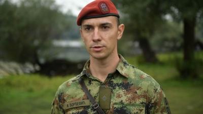 Second Lieutenant Igor Đorđević