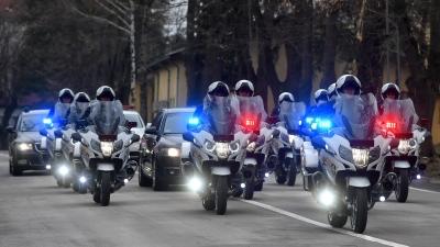 Нови мотоцикли у Војсци Србије