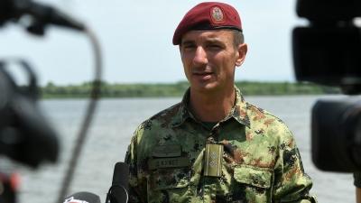 Потпуковник Драган Кужет, командант 72. извиђачко-диверзантског батаљона