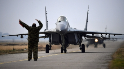 Obilazak dežurne jedinice lovačke avijacije