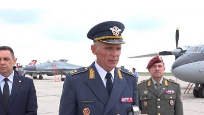 Изјава команданта РВ и ПВО бригадног генерала Душка Жарковића