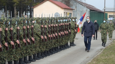 Demonstration of Capabilities of Part of Serbian Armed Forces' Units in the