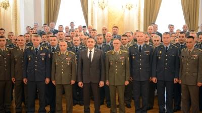 Свечаност доделе признања поводом успешно завршене вежбе Век победника 1918-2018