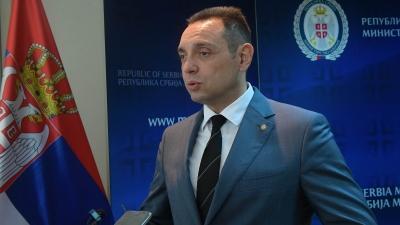 Ministar odbrane Aleksandar Vulin