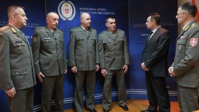 Пријем за припаднике Војске Србије који су спасили мештанку Ресавице