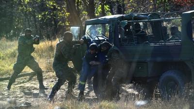 Obilazak pripadnika vojne policije na obuci
