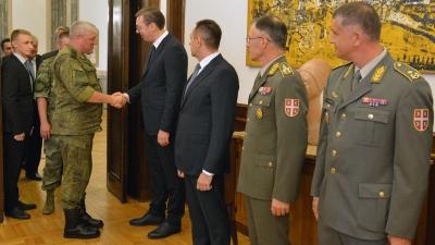Sastanak sa delegacijom ministarstava odbrane Ruske Federacije i Republike Belorusije