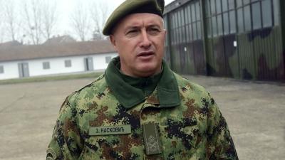 Бригадни генерал Зоран Насковић, командант Прве бригаде КоВ