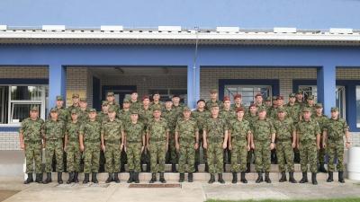 Генерал Диковић обишао припаднике Војске Србије на аеродрому у Нишу