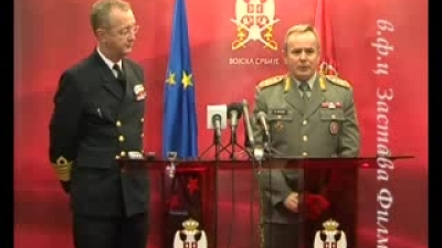Сусрет генерала Сирена и Милетића