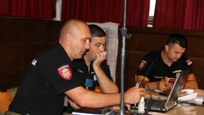Vežba podržana računarskim simulacijama Združeni udar 2018