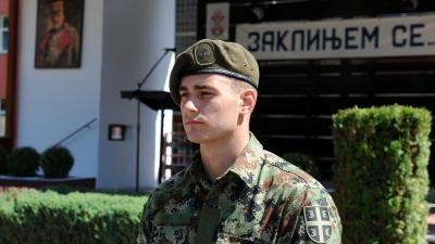 Војник Милош Николић