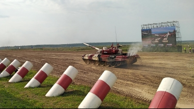 Serbian Armed Forces in the Semifinals of the Tank Biathlon