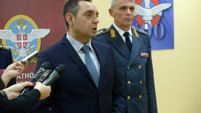 Minister Vulin: We continue modernization and equipping of Air Force and Air Defense