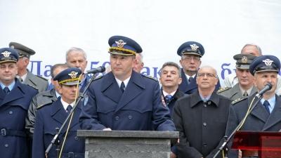 Прославa Данa 250. ракетне бригаде за ПВД, обраћање пуковника Јанковића