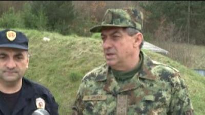 Генерал Диковић обишао снаге ангажоване на заштити границе са Републиком Бугарском